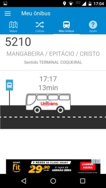 Numeração dos veículos deixa de constar junto ao horário das linhas.